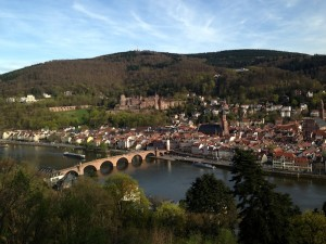Heidelberg from Philosophers way