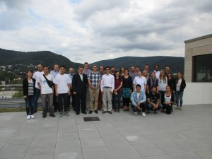 Participants of the 3D-TAIGER summer school 2016