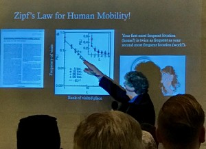 GK Zipf's Law for Mobility explained by John Krumm