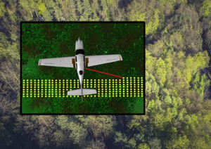 Creating synthetic airborne LiDAR data in HELIOS