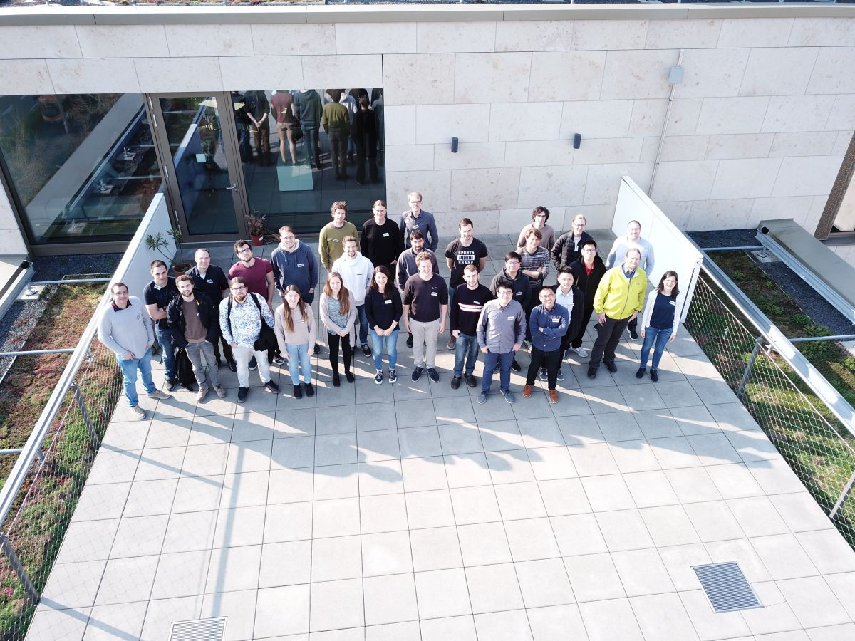 This is STAP19 - group photo