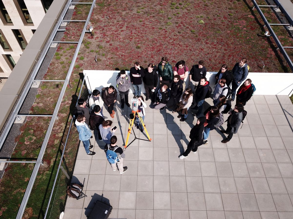 STAP19: Topographic LiDAR on the sunny terrace