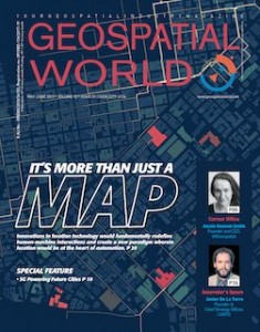The Geospatial Industry Magazine