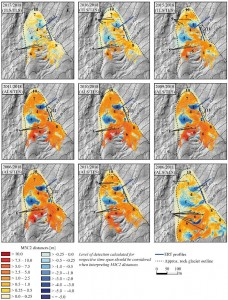 Multi‐temporal 3D point cloud‐based quantification and analysis of geomorphological activity at an alpine rock glacier using airborne and terrestrial LiDAR