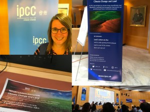 Nicole Aeschbach's impressions from the IPCC SRCCL launch event at WMO, Geneva (CH) on 8 August 2019