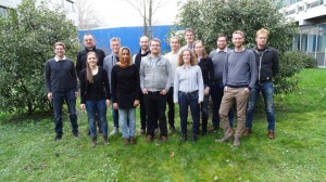 Project partners at the kick-off meeting
