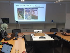 OSM completeness mapping for airborne situation assessment following an earthquake
