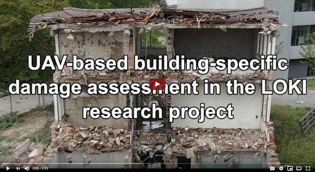 LOKI - Video on UAV-based damage assessment combining automated methods with Micro-Mapping