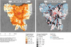 Flood Impact Assessment on Road Network and Healthcare Access at the example of Jakarta, Indonesia