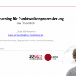 Talk: Deep Learning for Point Cloud Processing